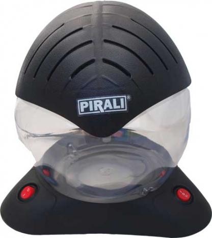 PIRALI Airfresh Bowl Luftreiniger schwarz mit LEDs-535
