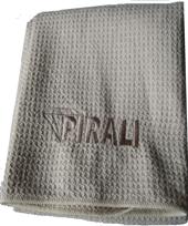 PIRALI exklusives Dusch- und Saunatuch 70 x 140 cm beige-275